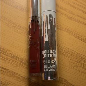 Kylie cosmetics holiday collection lipgloss